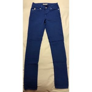 Just USA blue skinny jeans size 5